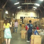 Hilary Anderson visited Pekerti's warehouse