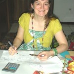 Hilary Anderson at Pekerti's office
